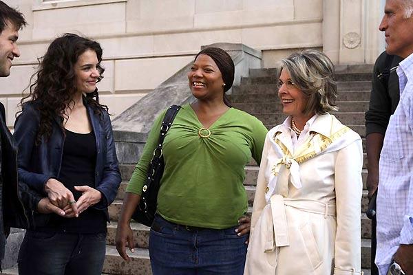 Tres mujeres y un plan : Foto Callie Khouri, Diane Keaton, Katie Holmes, Queen Latifah, Ted Danson