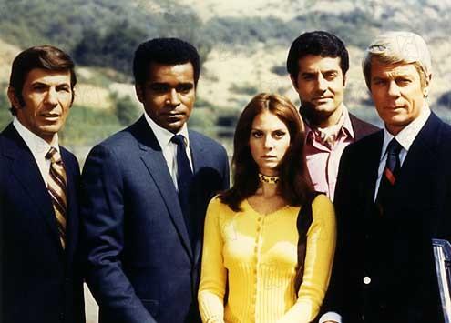 Misión: imposible : Foto Greg Morris, Leonard Nimoy, Lesley Ann Warren, Peter Graves, Peter Lupus