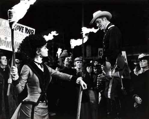 La batalla de las colinas de whisky: Lee Remick, Burt Lancaster, John Sturges