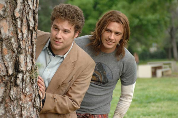 Superfumados : Foto James Franco, Seth Rogen