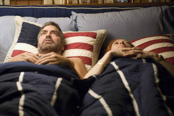 Quemar después de leer: Tilda Swinton, George Clooney