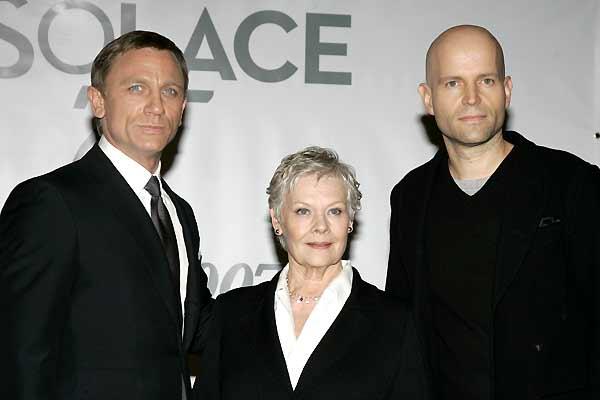 007 Quantum of Solace : Couverture magazine Daniel Craig, Judi Dench, Marc Forster