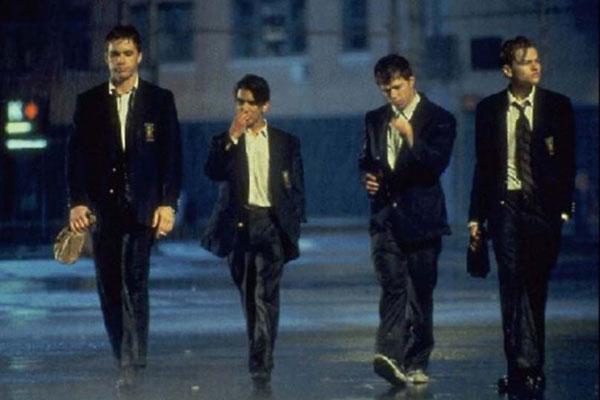Diario de un rebelde: Leonardo DiCaprio, Mark Wahlberg, Scott Kalvert
