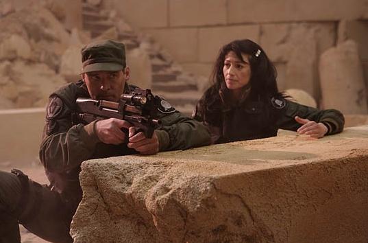 Stargate SG 1 : Foto Ben Browder, Claudia Black
