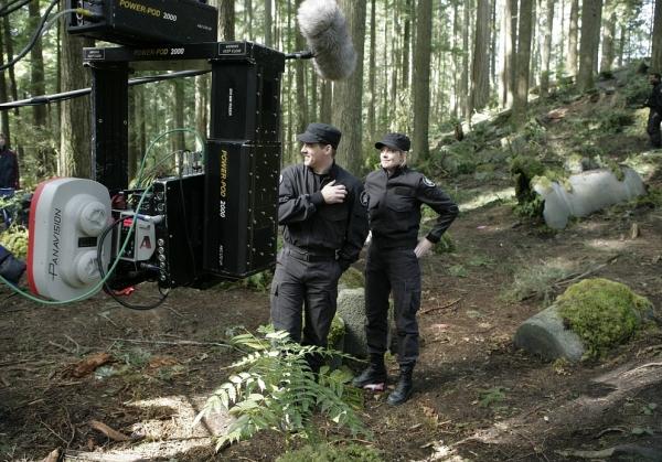 Stargate SG 1 : Foto Amanda Tapping, Ben Browder
