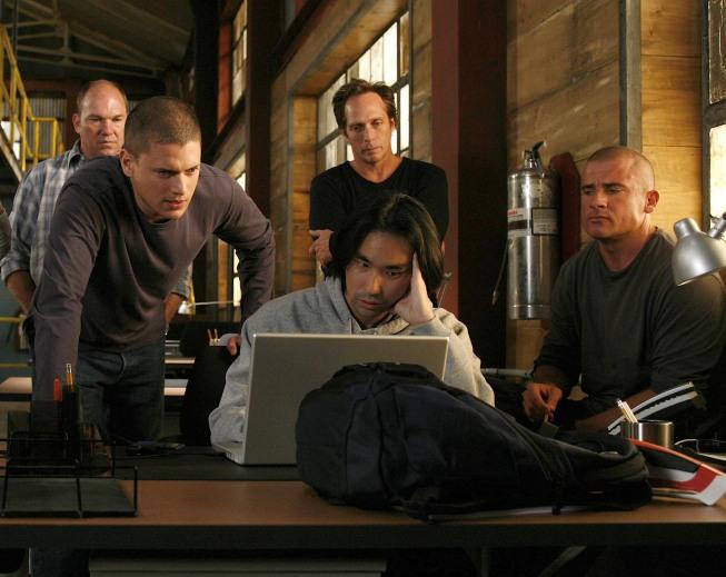 Prison Break : Foto Dominic Purcell, Wade Williams (II), Wentworth Miller, William Fichtner