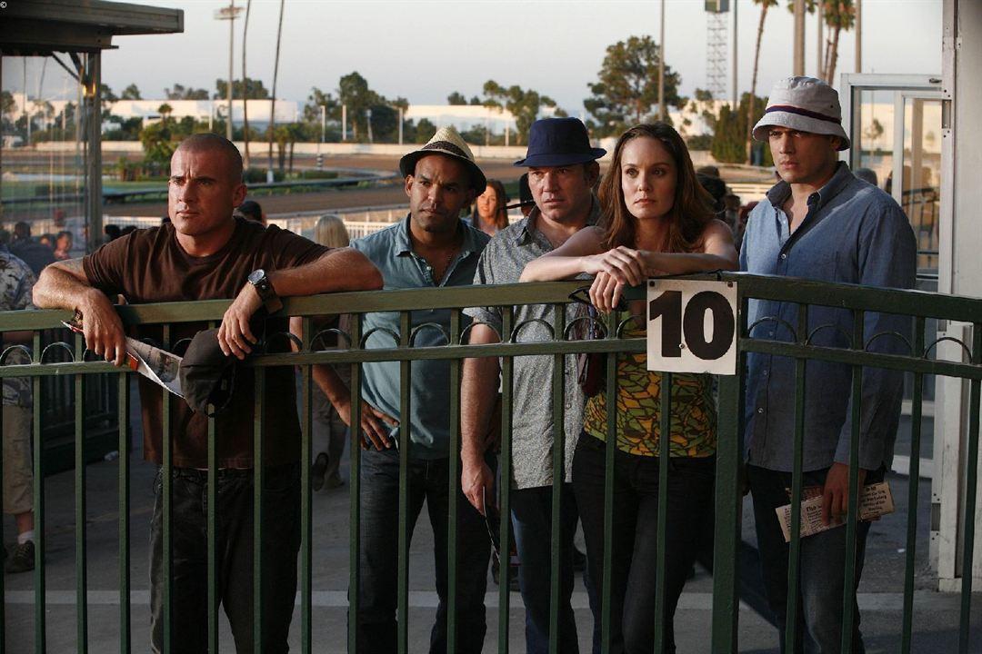 Prison Break : Foto Amaury Nolasco, Dominic Purcell, Sarah Wayne Callies, Wade Williams (II), Wentworth Miller