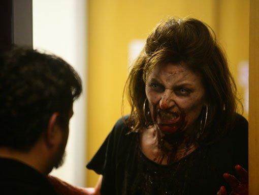 Dead Set: Muerte en directo : Foto Andy Nyman, Davina McCall