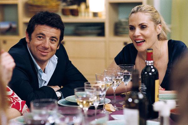 Cena de amigos: Emmanuelle Seigner, Patrick Bruel