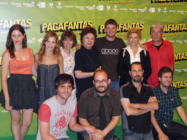 Pagafantas: Oscar Ladoire, Borja Cobeaga, Gorka Otxoa, Sabrina Garciarena, Julián López, Ernesto Sevilla, Kiti Manver