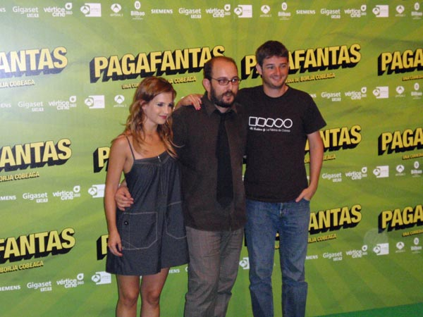 Pagafantas: Borja Cobeaga, Gorka Otxoa, Sabrina Garciarena