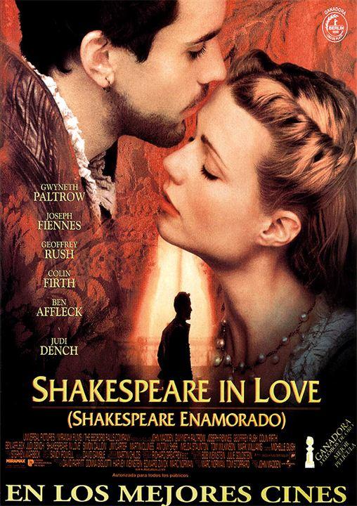 Resultado de imagen de shakespeare in love poster
