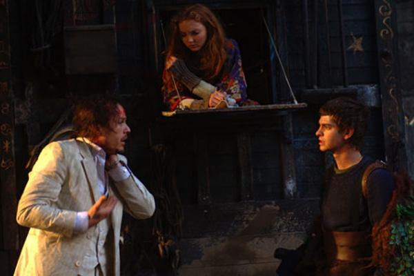 El imaginario del Doctor Parnassus : Foto Andrew Garfield, Heath Ledger, Lily Cole