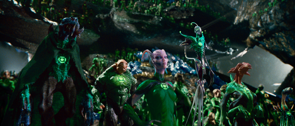 Green Lantern (Linterna Verde): Michael Clarke Duncan
