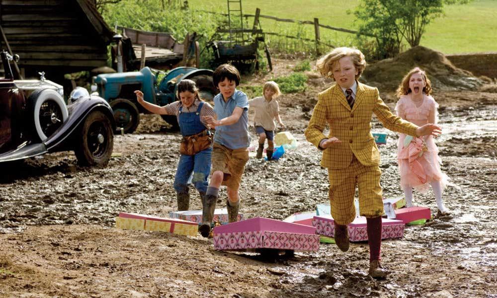 La niñera mágica y el Big Bang : Foto Asa Butterfield, Eros Vlahos, Lil Woods, Oscar Steer, Rosie Taylor-Ritson