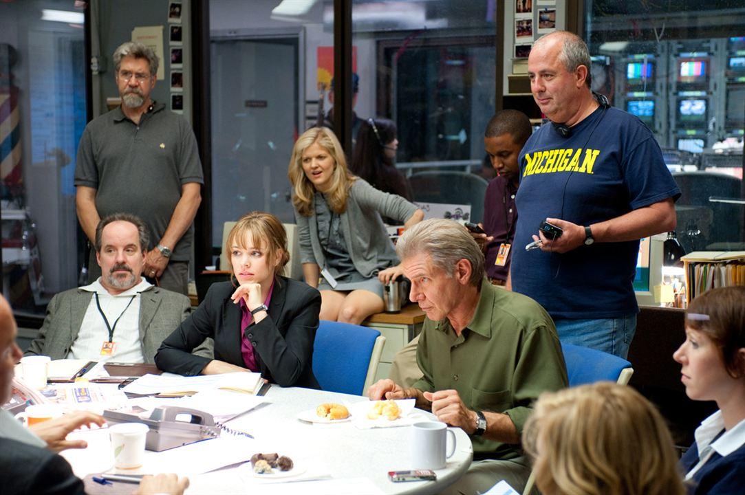 Morning Glory: John Pankow, Roger Michell, Harrison Ford, Rachel McAdams