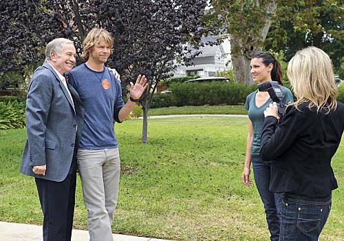 Foto Daniela Ruah, Eric Christian Olsen, Sam Anderson