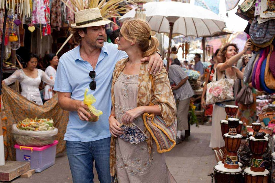 Come, reza, ama: Julia Roberts, Javier Bardem