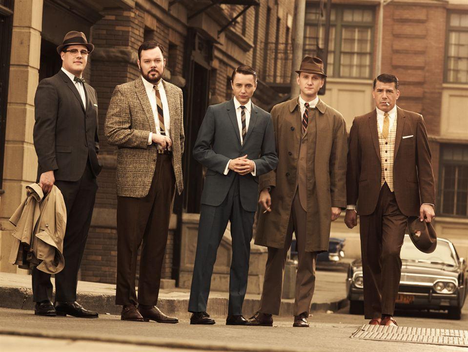 Foto Aaron Staton, Bryan Batt, Michael Gladis, Rich Sommer, Vincent Kartheiser