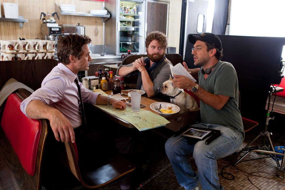 Salidos de cuentas: Robert Downey Jr., Zach Galifianakis