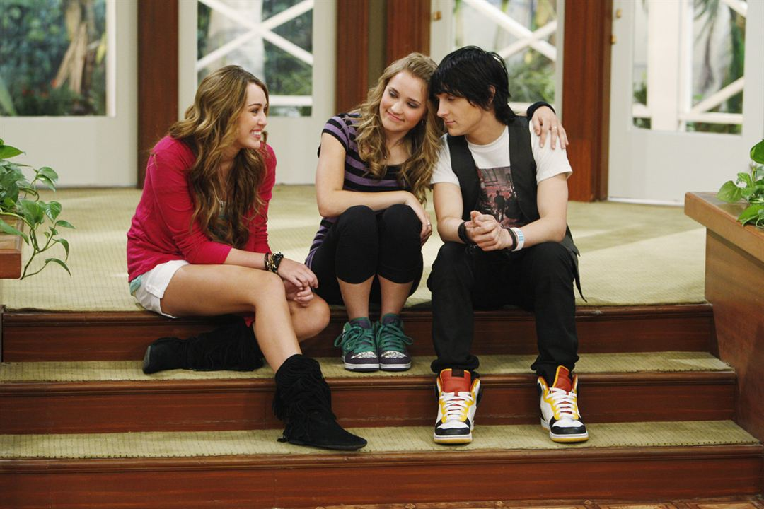 Hannah Montana : Foto Emily Osment, Miley Cyrus, Mitchel Musso