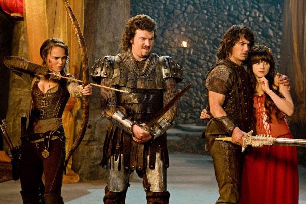 Caballeros, princesas y otras bestias : Foto Danny McBride, James Franco, Natalie Portman, Zooey Deschanel