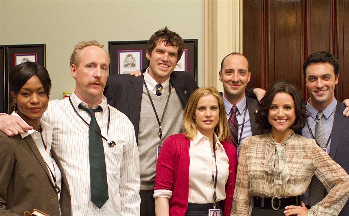 Foto Anna Chlumsky, Julia Louis-Dreyfus, Matt Walsh, Reid Scott, Sufe Bradshaw