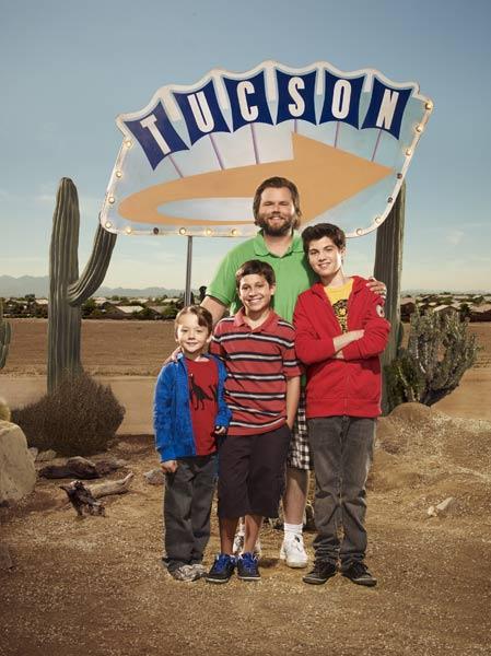 Sons of Tucson : Foto Benjamin Stockham, Frank Dolce, Matthew Levy, Tyler Labine