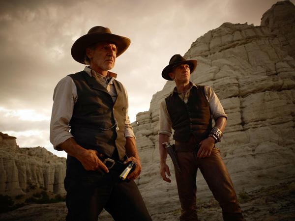 Cowboys & Aliens : Foto Daniel Craig, Harrison Ford