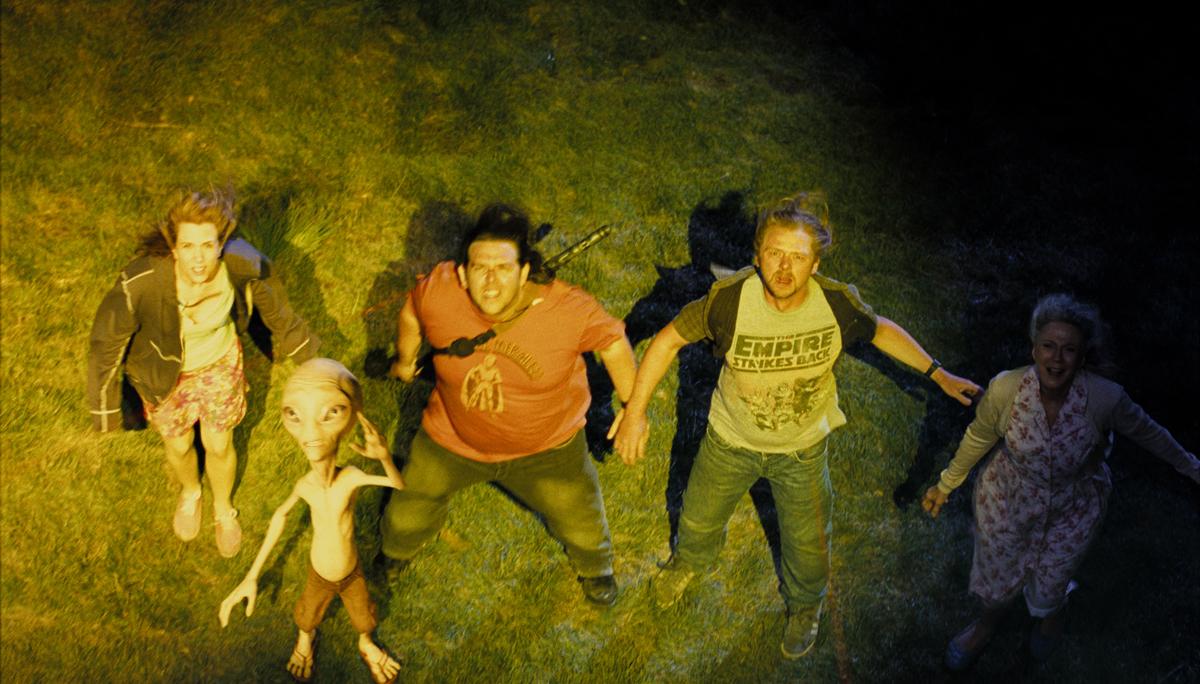 Paul : Foto Blythe Danner, Greg Mottola, Kristen Wiig, Nick Frost, Simon Pegg
