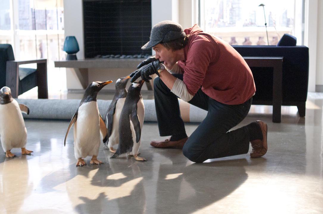 Los pingüinos del Sr. Poper : Foto Jim Carrey, Mark Waters