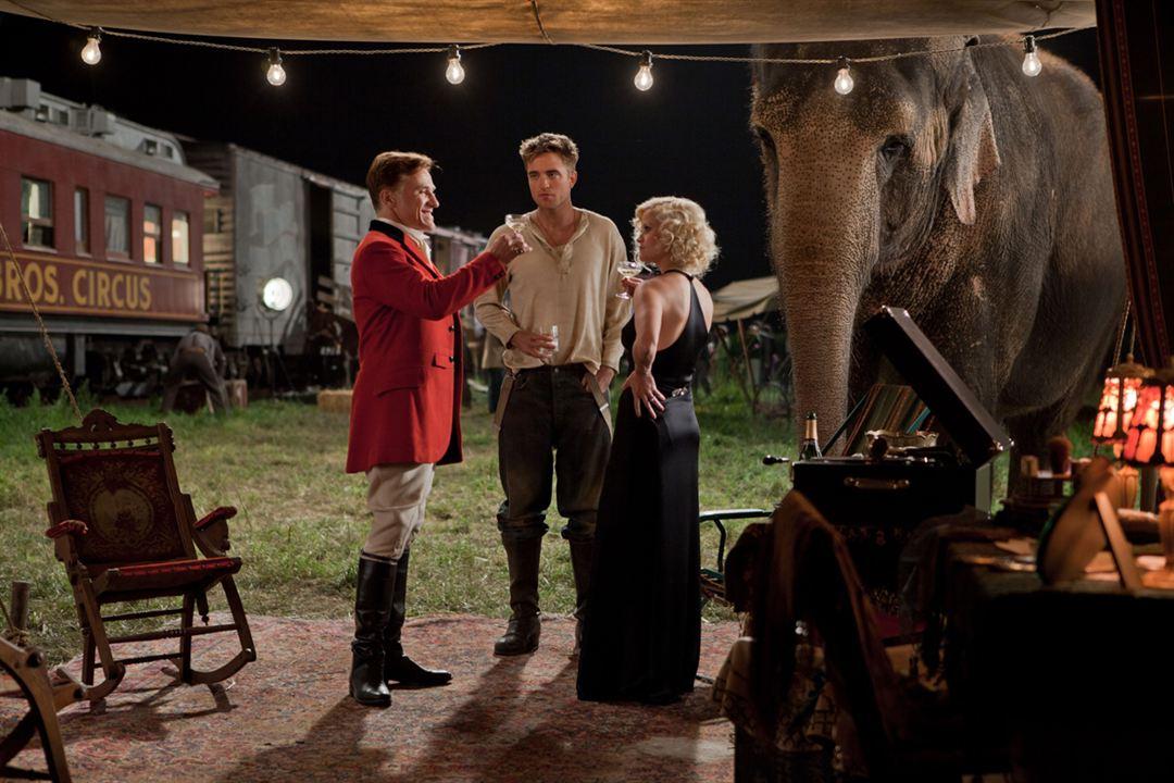 Agua para elefantes : Foto Christoph Waltz, Reese Witherspoon, Robert Pattinson