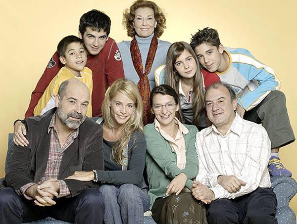 Los Serrano : Foto Antonio Resines, Belén Rueda, Fran Perea, Goizalde Núñez, Jesús Bonilla