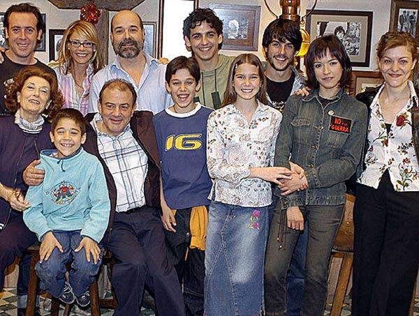 Los Serrano : Foto Alejo Sauras, Antonio Molero, Antonio Resines, Belén Rueda, Fran Perea