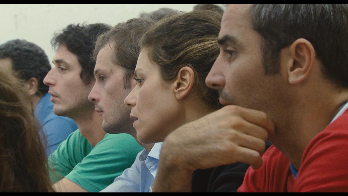 Polisse : Foto Arnaud Henriet, Jérémie Elkaïm, Maïwenn, Marina Foïs, Nicolas Duvauchelle