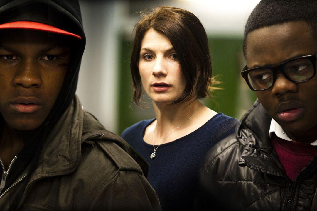 Attack The Block: Jodie Whittaker, Joe Cornish, John Boyega, Leeon Jones