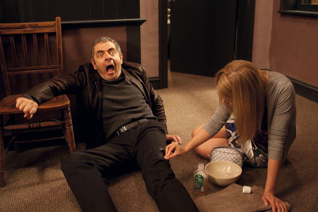 Johnny English Returns: Rowan Atkinson, Rosamund Pike