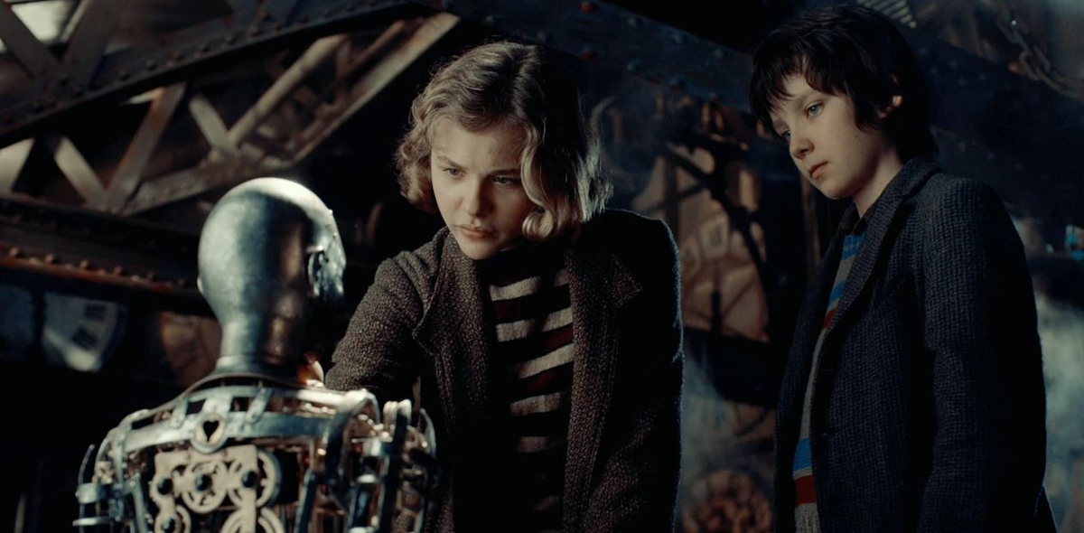 La invención de Hugo : Foto Asa Butterfield, Chloë Grace Moretz, Martin Scorsese