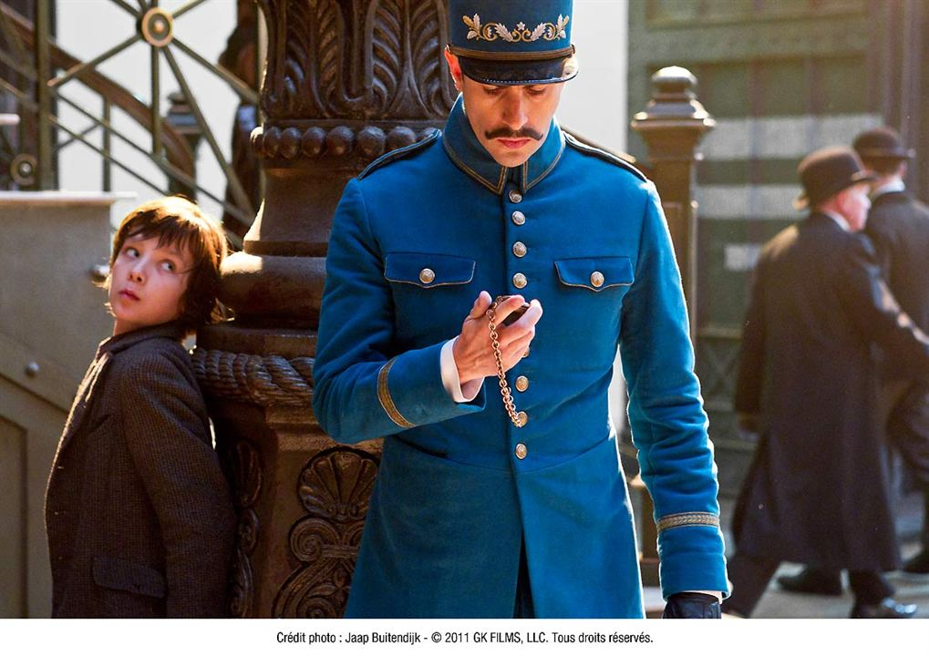 La invención de Hugo : Foto Asa Butterfield, Sacha Baron Cohen