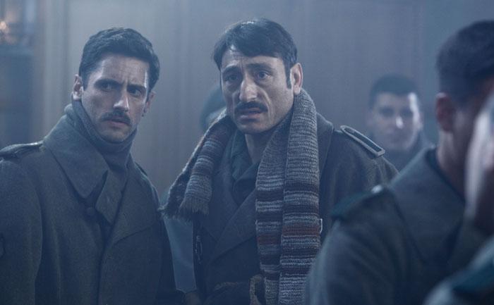 Silencio en la nieve: Juan Diego Botto, Carmelo Gomez