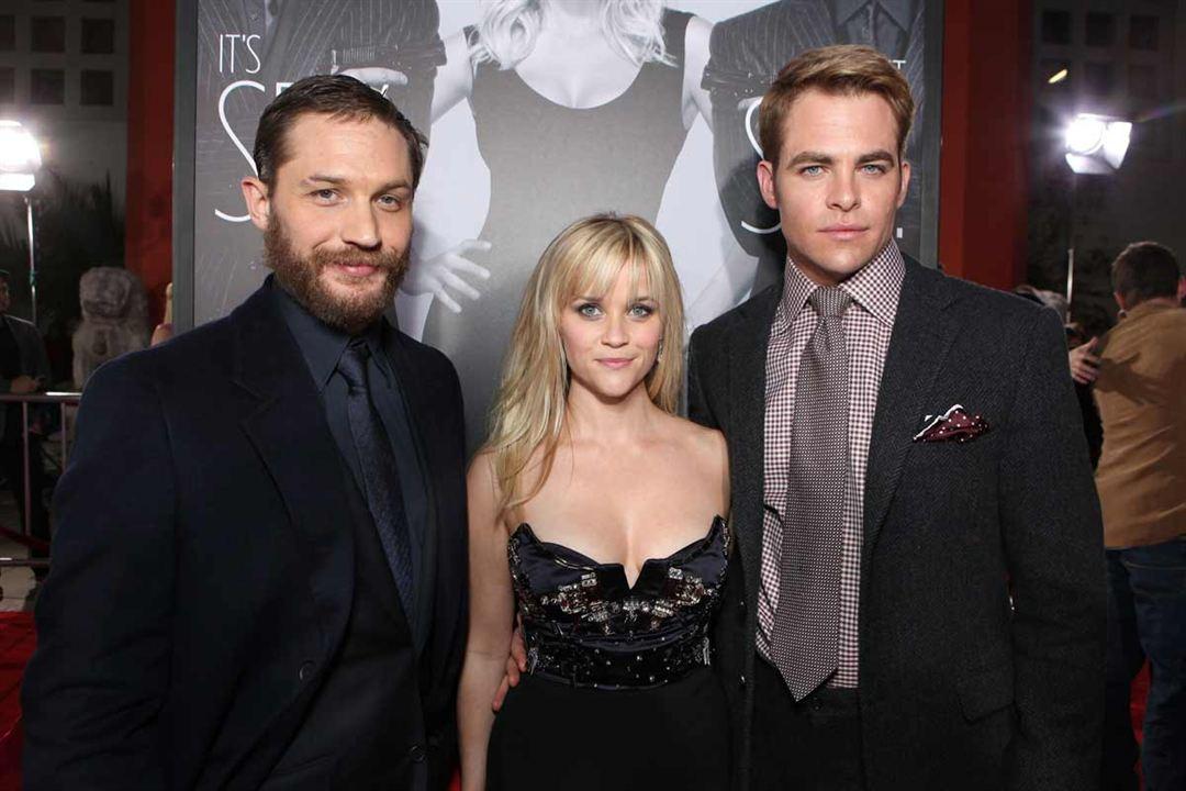 Esto es la guerra: Chris Pine, Reese Witherspoon, Tom Hardy
