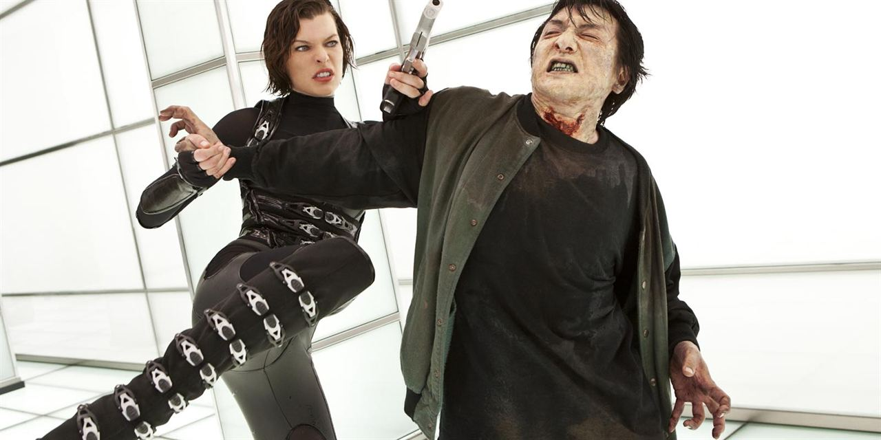 Resident Evil: Venganza: Milla Jovovich, Jackie Chan