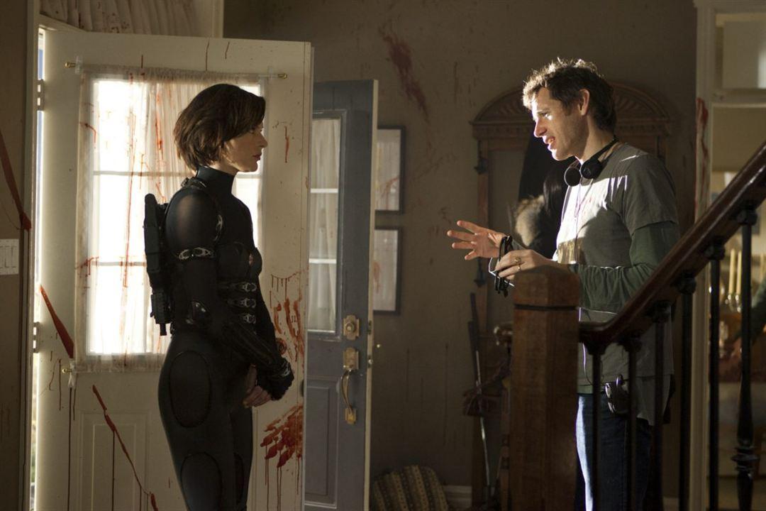 Resident Evil: Venganza: Milla Jovovich, Paul W.S. Anderson