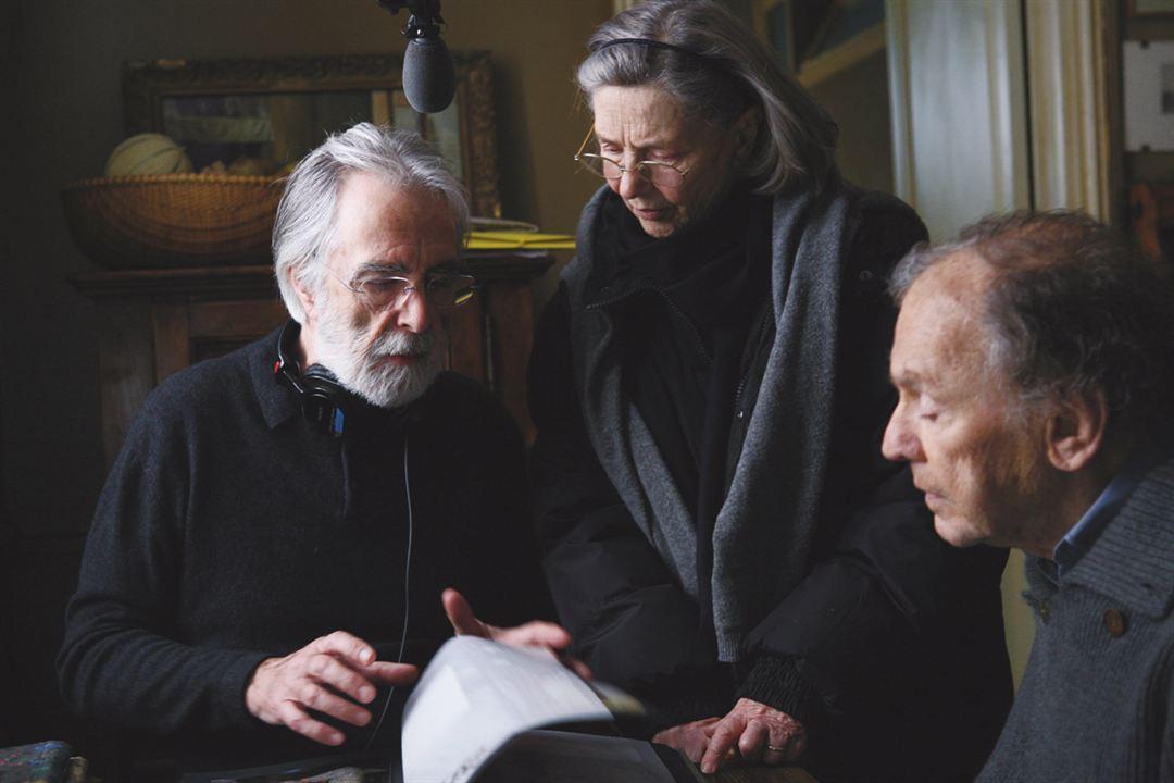 Amor: Michael Haneke, Emmanuelle Riva, Jean-Louis Trintignant
