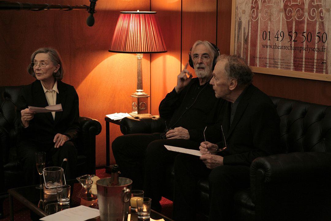 Amor: Jean-Louis Trintignant, Michael Haneke, Emmanuelle Riva