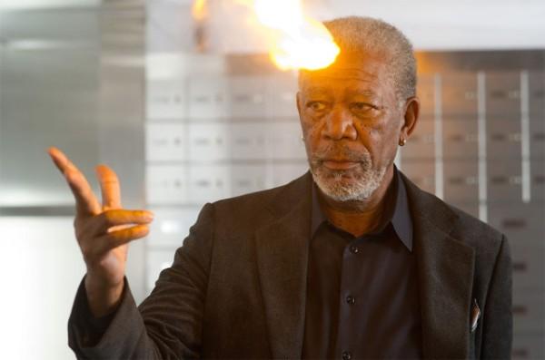 Ahora me ves...: Morgan Freeman