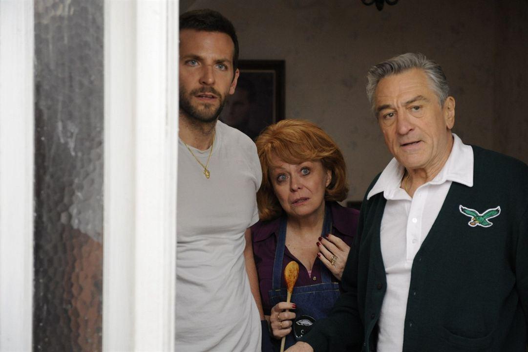 El lado bueno de las cosas (Silver Linings Playbook): Bradley Cooper, Robert De Niro, Jacki Weaver