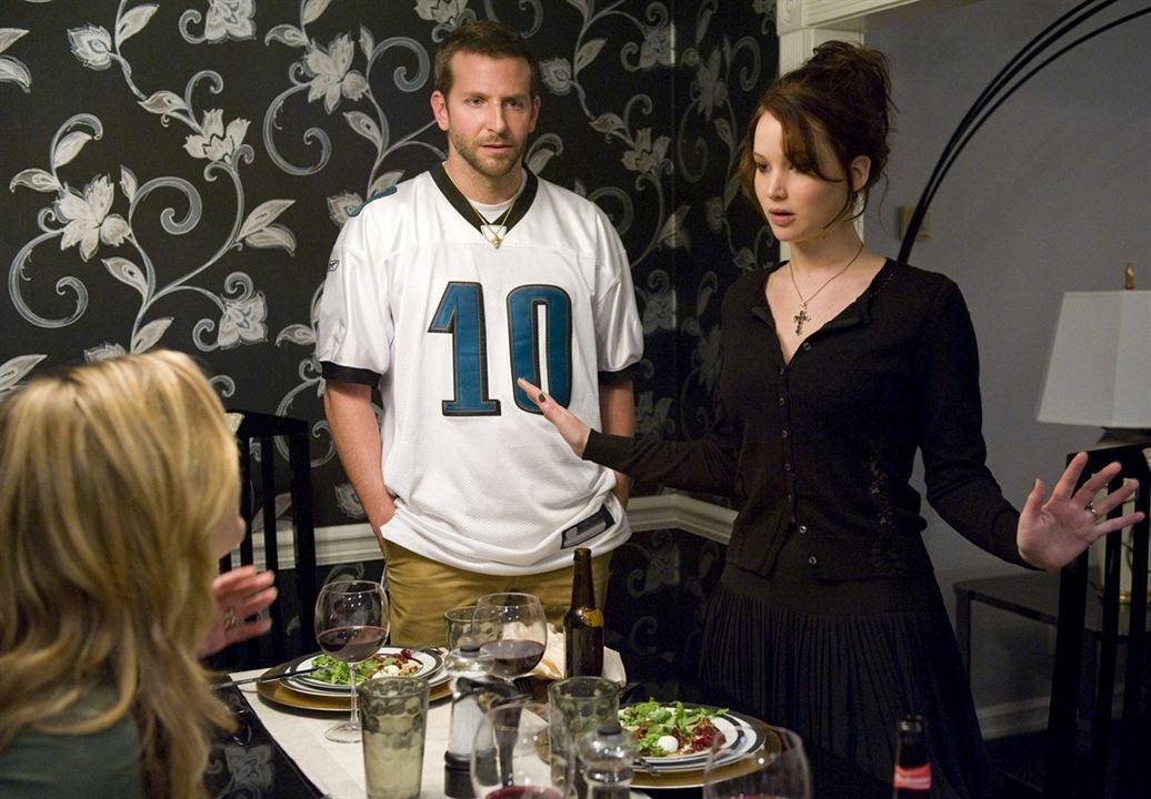 El lado bueno de las cosas (Silver Linings Playbook): Bradley Cooper, Jennifer Lawrence