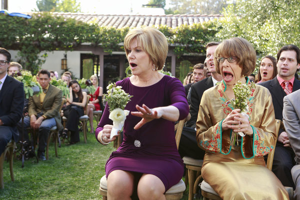 Foto Jackie Hoffman, Mary Kay Place