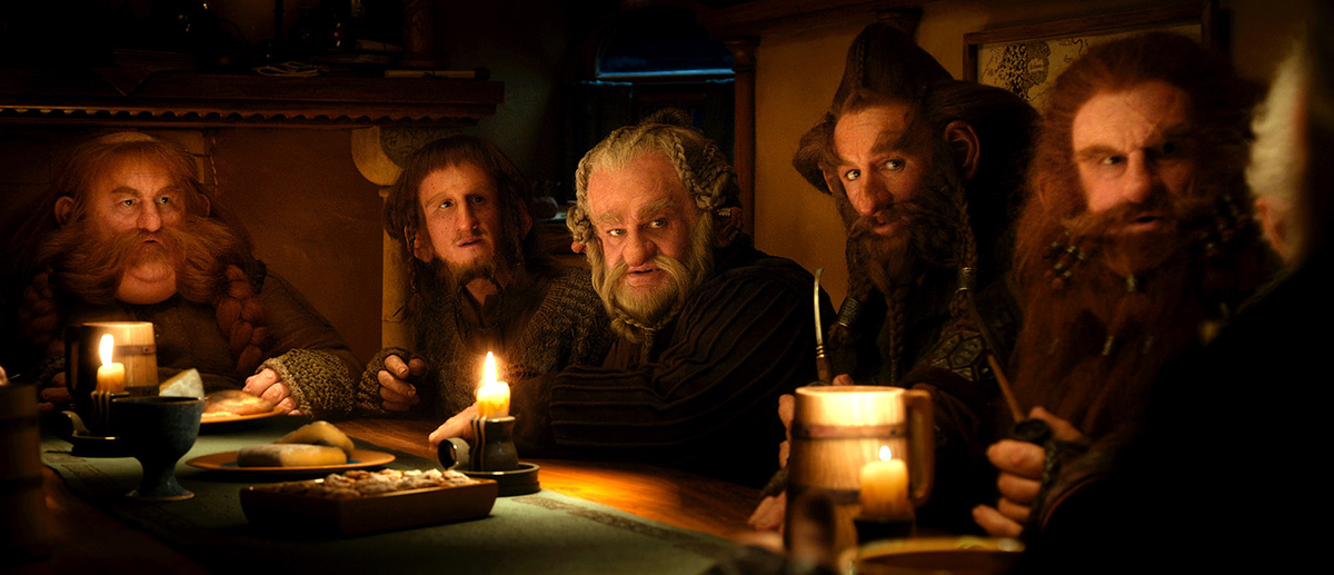 El Hobbit: Un viaje inesperado : Foto Adam Brown, Jed Brophy, Mark Hadlow, Peter Hambleton, Stephen Hunter